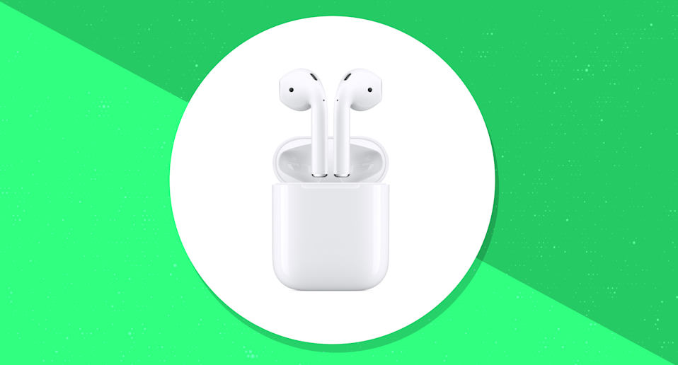 Save $30 on the Apple AirPods with standard charging case. (Photo: Walmart/Yahoo Lifestyle)