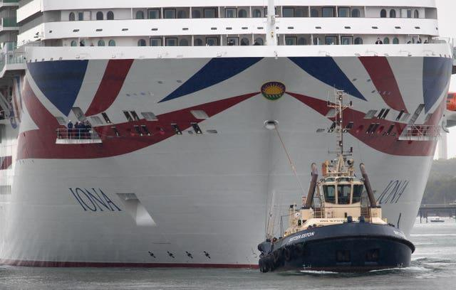 The Iona is the first British liner fuelled by liquefied natural gas