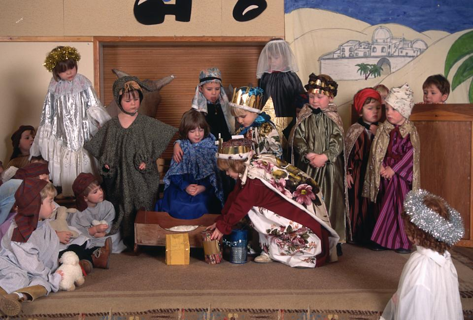 A mum isn't happy that her daughter has been cast as the Innkeepers wife in the school nativity [Photo: Getty]