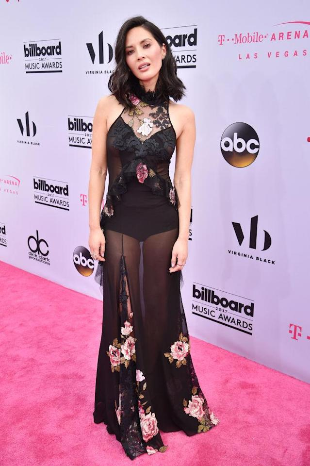 Olivia Munn attends the 2017 Billboard Music Awards at T-Mobile Arena on May 21. (Photo: Kevin Mazur/BBMA2017/Getty Images for dcp)