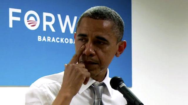 Tearful Obama Thanks Staff for Campaign (ABC News)