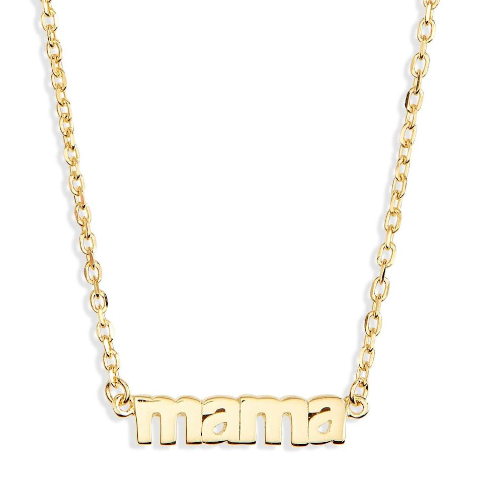 Mama Pendant Necklace on Nordstrom