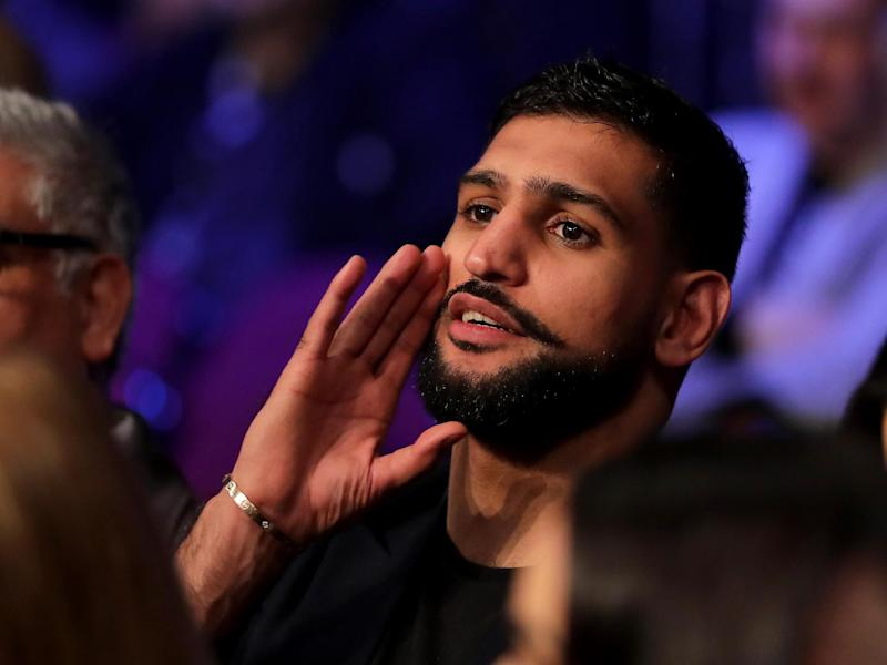 Amir Khan labels Floyd Mayweather fight 'a joke' that is 'harming boxing' in fierce verbal attack