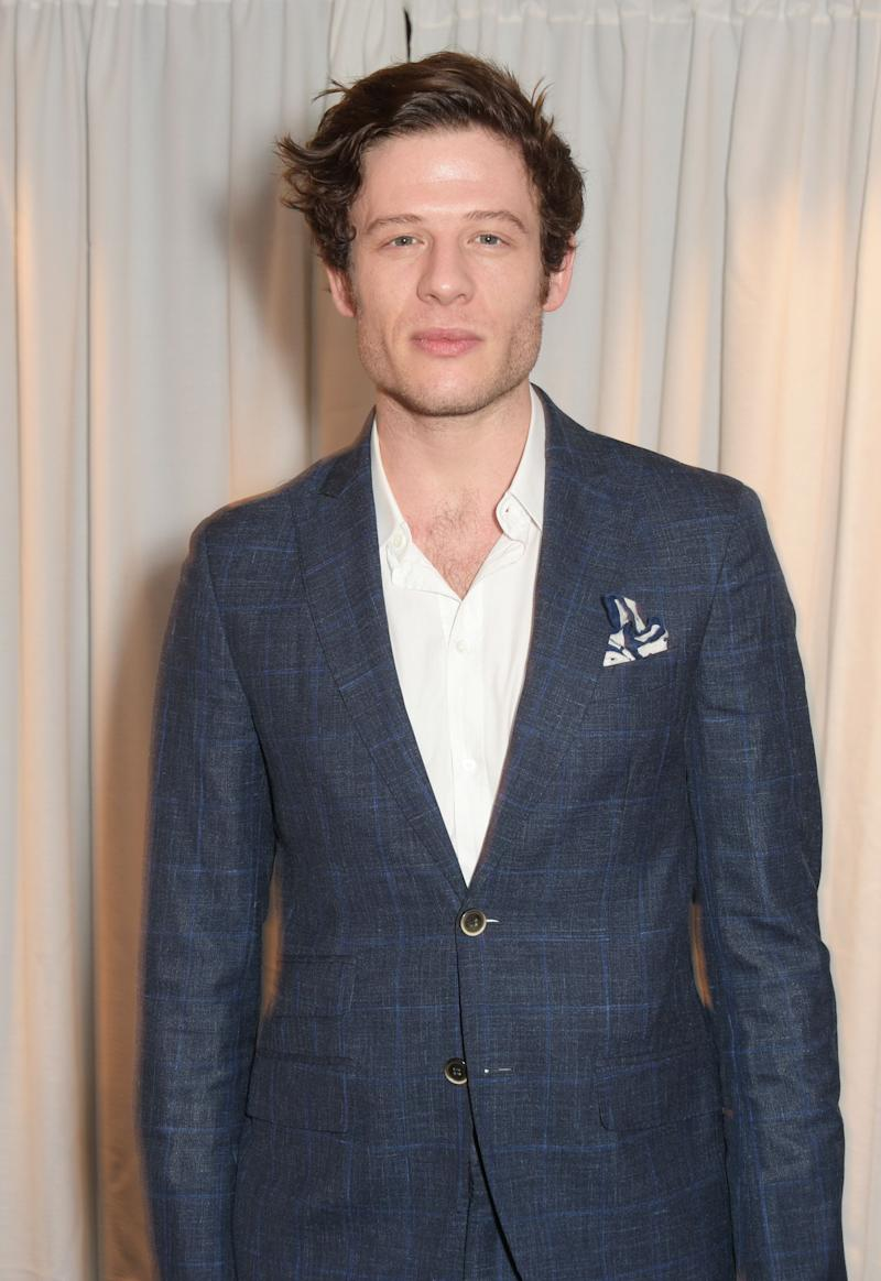 LONDON, ENGLAND - MARCH 29: James Norton attends the Jameson Empire Awards 2015 at Grosvenor House on March 29, 2015 in London, England. (Photo by David M. Benett/Getty Images)