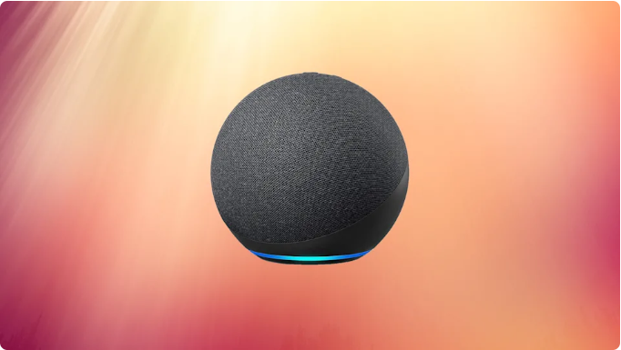 The Echo Dot 4 speaker outsmarts the competition. And it's at $25 — its lowest price yet! (Photo: Amazon)