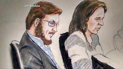 James Holmes sat impassively Tuesday as prospective jurors heard the charges against him. (Jeff Kandyba/AP Photo)