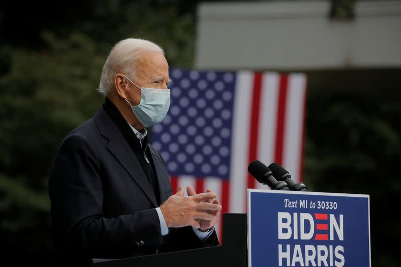 Biden leads by 10 points as majority of Americans say Trump could have avoided coronavirus: Reuters/Ipsos poll