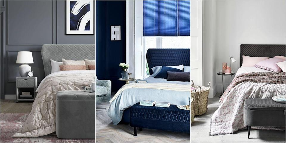 """<p><strong>Say hello to Dreams, one of the newest members of the House Beautiful Modern Living Collections, your go-to place for the best in contemporary and affordable style.</strong></p><p>Thinking about an autumn <a href=""""https://www.housebeautiful.com/uk/decorate/bedroom/g31/bedroom-decorating-ideas/"""" rel=""""nofollow noopener"""" target=""""_blank"""" data-ylk=""""slk:bedroom"""" class=""""link rapid-noclick-resp"""">bedroom</a> refresh but not sure where to start? We've teamed up with the experts at <a href=""""https://www.dreams.co.uk/house-beautiful"""" rel=""""nofollow noopener"""" target=""""_blank"""" data-ylk=""""slk:Dreams"""" class=""""link rapid-noclick-resp"""">Dreams</a>, the UK's number one specialist bed retailer, to bring you some fabulous trend-led looks, along with tips and tricks from our style team to add wow factor to your space.</p>"""