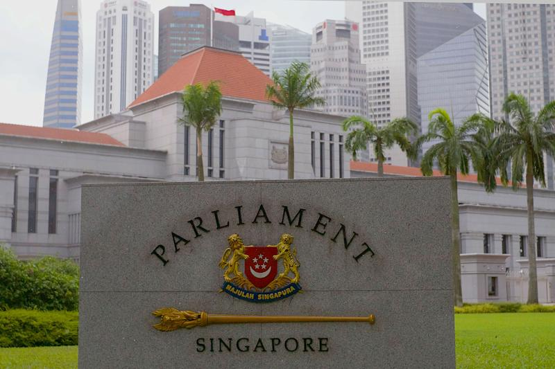 Singapore's Parliament House. (PHOTO: Dhany Osman / Yahoo News Singapore)
