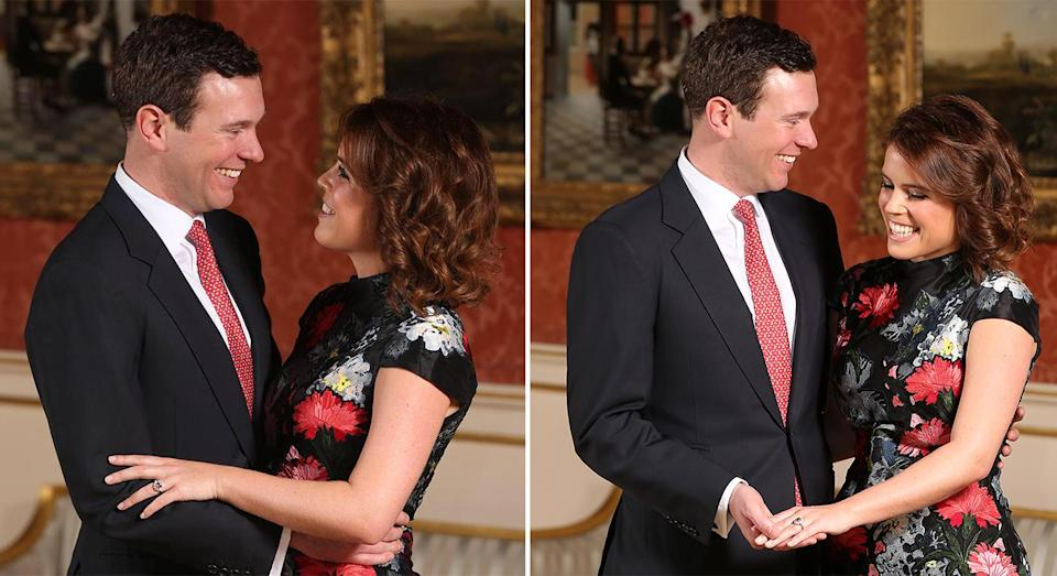 Princess Eugenie and Jack Brooksbank's engagement photos [Photo: Getty]