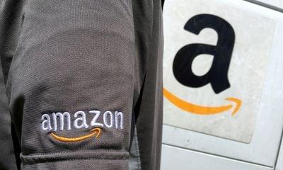 Amazon shares up as quarterly revenues surge
