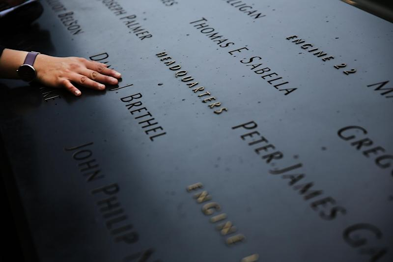 A memorial service is being held in New York to honour the lives lost during the terror attacks on September 11, 2001. (Getty)