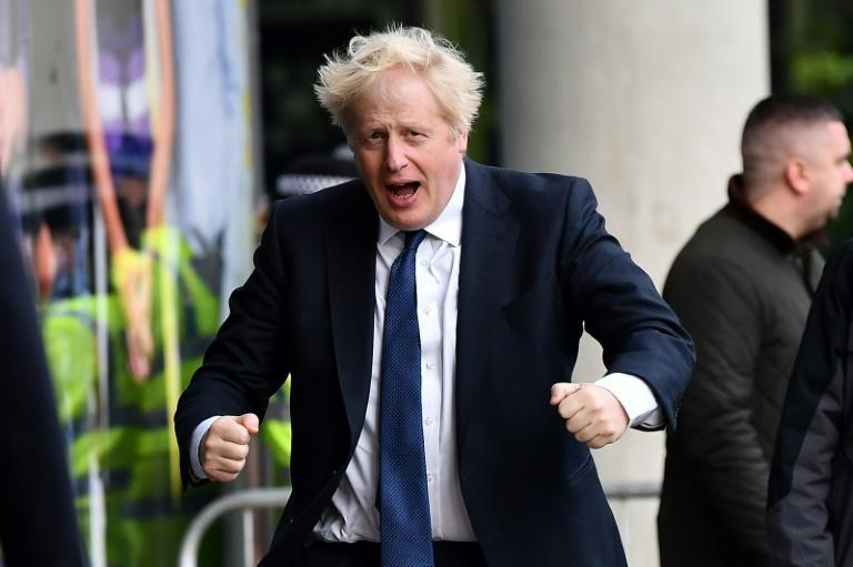 Boris Johnson has vowed to forge ahead with his post-Covid recovery plan to 'build back better' in areas from infrastructure to climate change (AFP/Ben STANSALL)