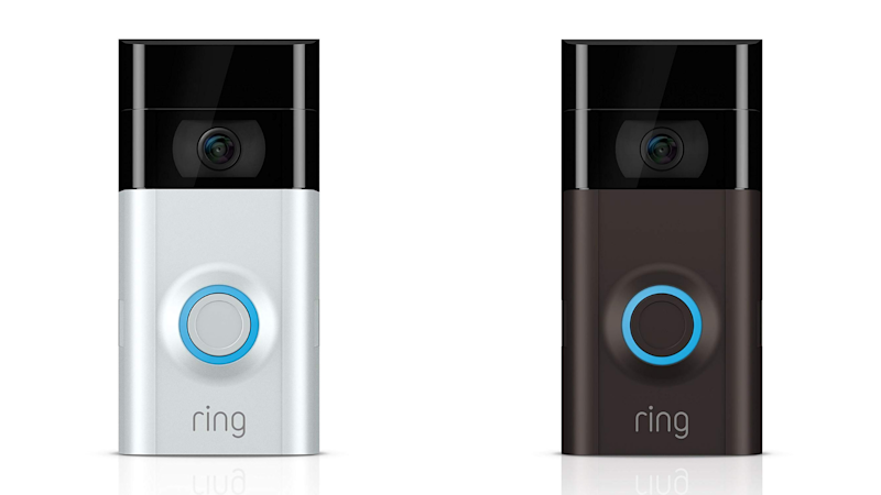 The Ring Video Doorbell 2 has a 4.2 out of 5 star review rating with over 9,700 reviews. (Photo: Amazon)