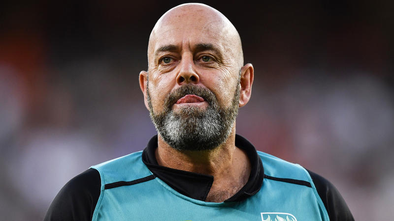Brisbane Heat coach Darren Lehmann was admitted to hospital on the Gold Coast after suffering chest pains. (Photo by Stefan Gosatti/Getty Images)