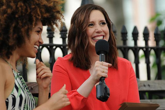 Vanessa Bayer is talking to women about their birth control. (Photo: Michael Simon/startraksphoto.com)