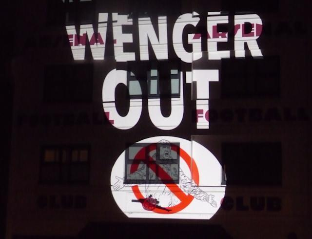 wenger out