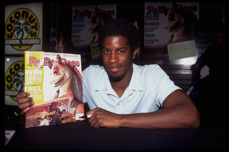 "Jar Jar Binks actor Ahmed Best said he felt ""forgotten."" (Marion Curtis via Getty Images)"
