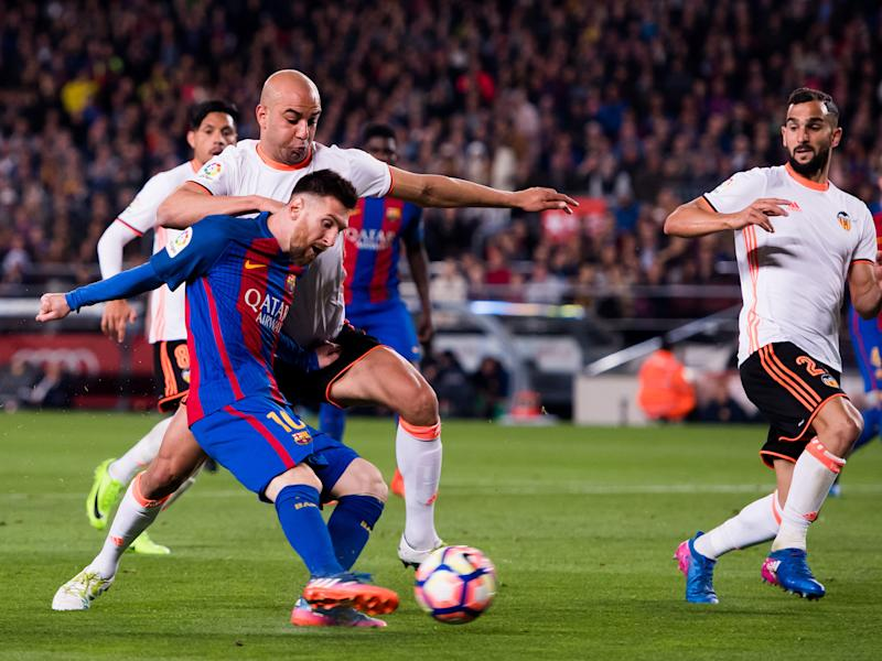 Lionel Messi restored Barcelona's lead shortly after half-time: Getty