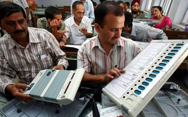 Madhya Pradesh bypolls Congress demands paper ballot after VVPAT dispenses only BJP ticket in Bhind