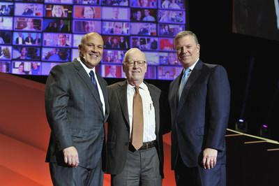 From left to right, John G. Morikis, John G. Breen and Christopher M. Connor (Image of the ninth, seventh and eighth Sherwin-Williams CEO's taken at the Company's 2016 150th anniversary celebration)