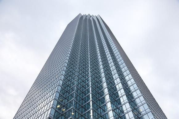 The Bank of America Plaza in Dallas, Texas.