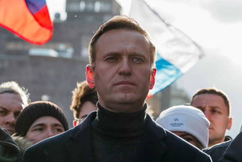 No serious threat to Kremlin critic Navalny's life, symptoms improving - spokeswoman