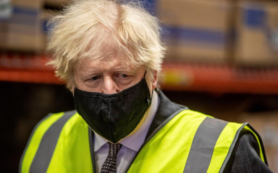 Boris Johnson has announced a £23 million fund to help the fishing industry - Reuters