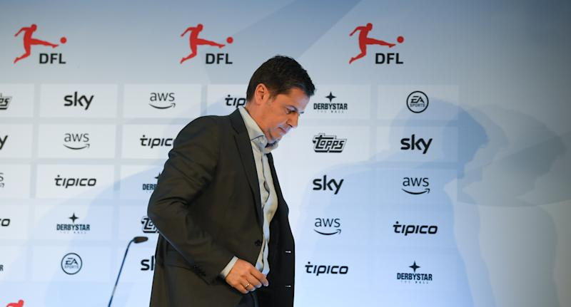 Bundesliga CEO Christian Seifert has warned of financial troubles for not only second-division sides, but some in the top flight as well. (Photo by Arne Dedert/Pool/Getty Images)