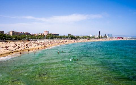 Platja de Barceloneta - Credit: This content is subject to copyright./Westend61