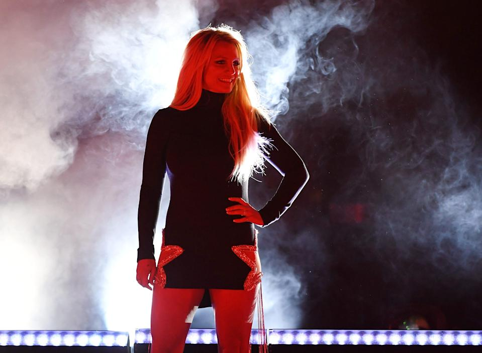 Britney Spears addressed the courtWednesday in the ongoing battle over herconservatorshipfor the first known timein more than two years.