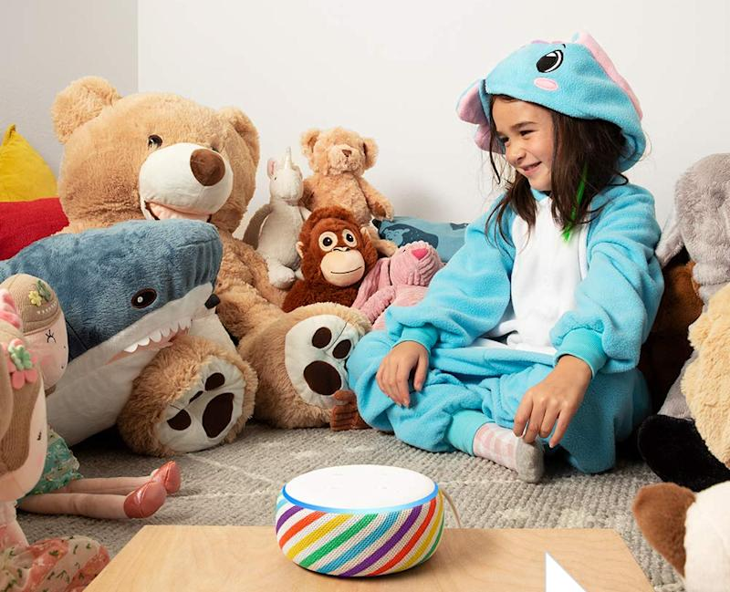 This cute Echo Dot Kids Edition is still available for Prime Day. (Photo: Amazon)