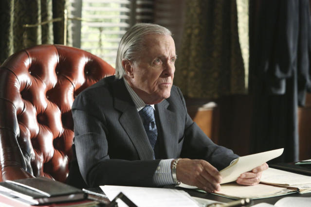 """White Hat's Off"" - Quinn's identity is finally revealed, and the more the Pope & Associates team learn about her past, the more they realize she could be their biggest scandal yet. Meanwhile, a senator seeks Olivia's help when his personal life is about to become a public disgrace, and President Fitz is stuck between a rock and hard place when Mellie and Cyrus put him in a very compromising position during a live television interview, on the sophomore season premiere of ""Scandal."""