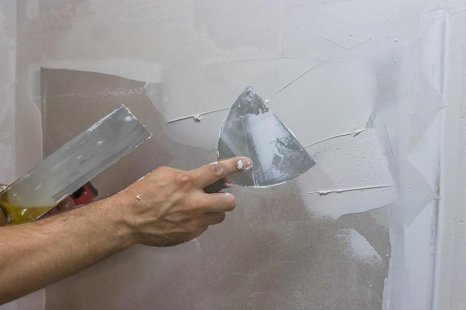 """If you're not prepping your walls before you paint them, it won't be long before that fresh paint job you spent your whole Saturday on is in need of touching up. """"Prep is the most important step to painting,"""" says Griffing. """"Everything from cleaning the walls and fixing cracks should be done beforehand."""""""