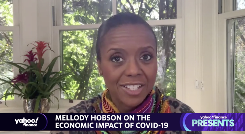 """Ariel Investments Co-CEO Mellody Hobson appears on """"Influencers with Andy Serwer."""""""