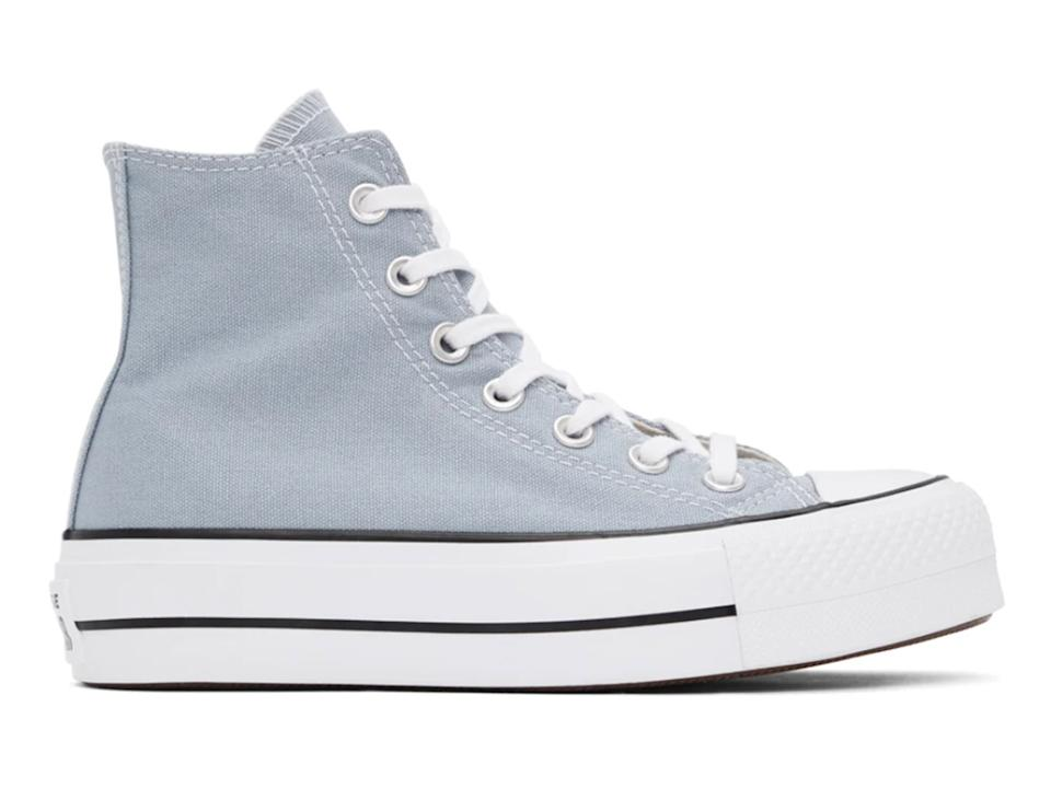 CONVERSE Grey Chuck Taylor All Star Lift High Sneakers
