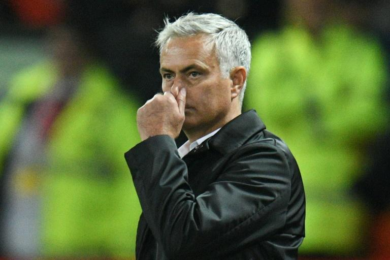 Yesterday's man? Manchester United manager Jose Mourinho is living on past glories