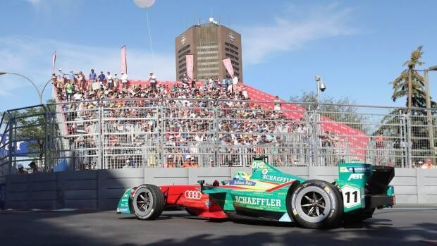The City of Montreal says a negotiated settlement was the way to go to solve the legal dispute over the cancellation of future Formula ePrix races. (Tom Boland/Canadian Press - image credit)