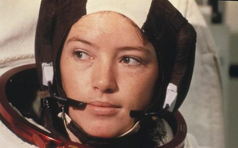 <span>Astronaut Anna Fisher shortly after her selection for Nasa </span> <span>Credit: Bettmann Corbis Historical </span>