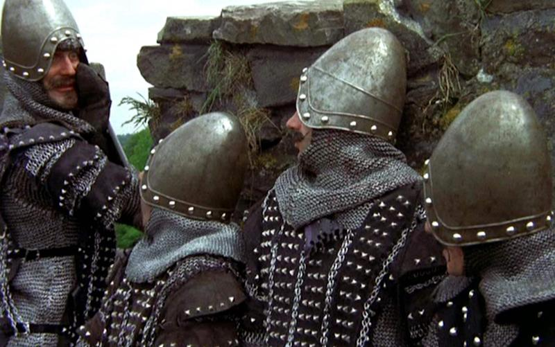 Monty Python and The Holy Grail - Credit: Pictures/EMI/REX/Shutterstock