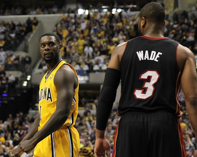 Lance Stephenson ejected for 2nd technical after jawing at Dwyane Wade (Video)