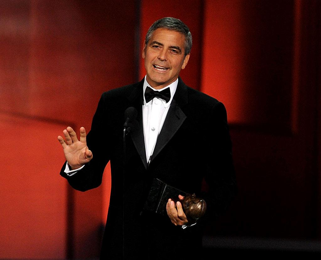 "<b>BEST: George Clooney's Speech</b><br> The always-humble actor was receiving a humanitarian award, so after the requisite number of self-deprecating jokes (he's dying, he's old, etc.), he gave an optimistic, matter-of-fact speech about how everyone loves to help people in a crisis, but once the crisis has passed, we forget about them, even though they still need help. His admission of his own shortcomings and his expressed hope that someone will step up in the future sent a message without being too preachy or laying a guilt trip on us.<br><br>  <a href=""http://www.televisionwithoutpity.com/show/emmy_awards/emmy_awards_2010_best_and_wors.php?__source=tw