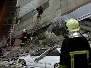 Taiwan earthquake: Death toll reaches 12 as rescue workers pull out two more bodies, several still missing