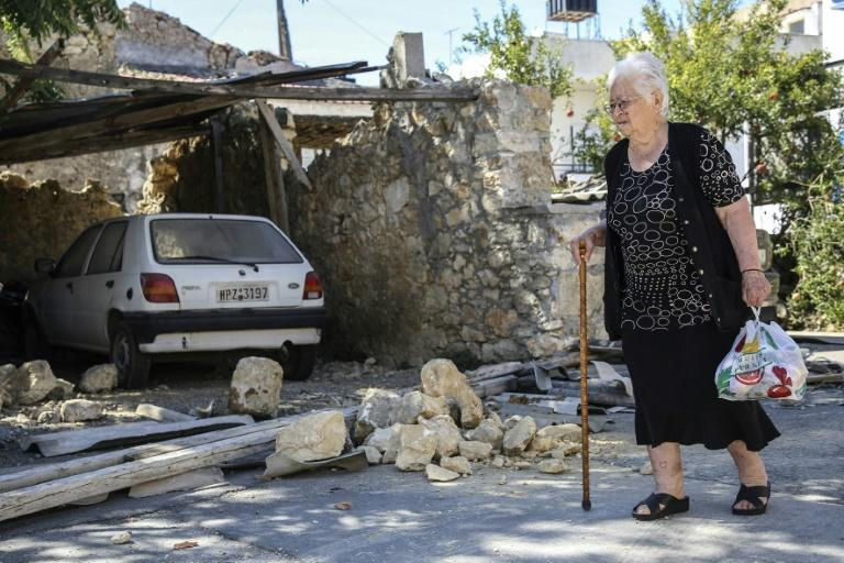 Greece is located on a number of fault lines, and is sporadically hit by earthquakes (AFP/Costas Metaxakis)