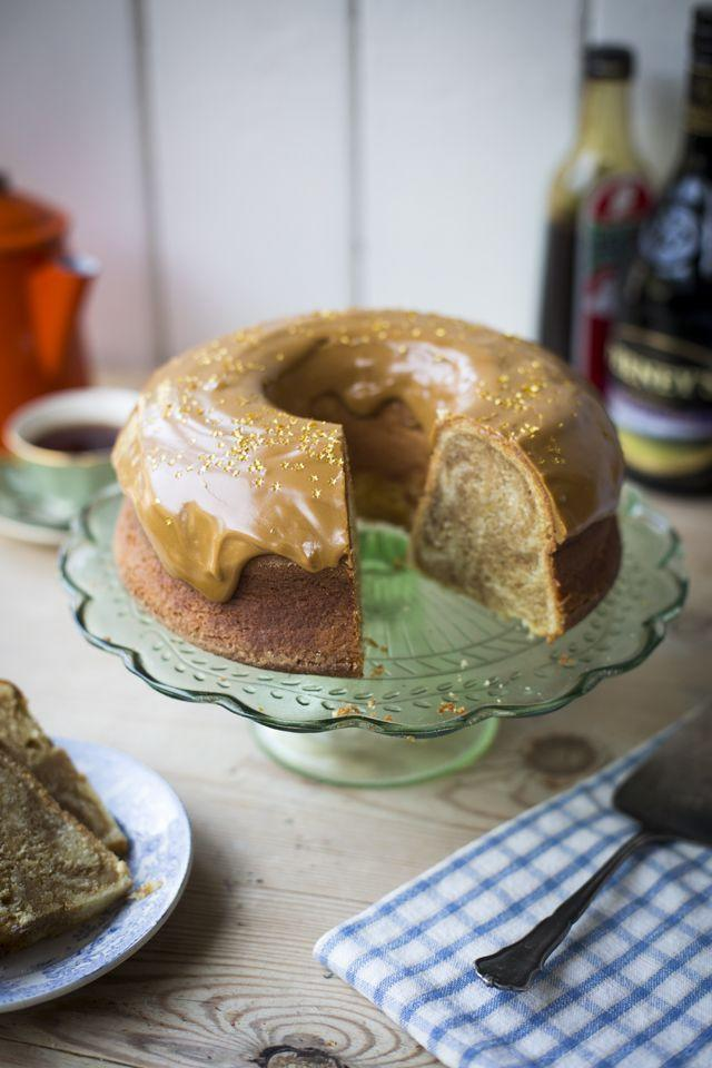 """<p>Glazed over a moist coffee cake will be our preferred way of consuming Irish coffee from now on.</p><p><a class=""""link rapid-noclick-resp"""" href=""""https://www.amazon.com/Wilton-Perfect-Results-Non-Stick-Fluted/dp/B004EBK7TK/?tag=syn-yahoo-20&ascsubtag=%5Bartid%7C10055.g.981%5Bsrc%7Cyahoo-us"""" rel=""""nofollow noopener"""" target=""""_blank"""" data-ylk=""""slk:SHOP BUNDT PANS"""">SHOP BUNDT PANS</a></p><p><em><a href=""""http://www.donalskehan.com/recipes/irish-coffee-cake/"""" rel=""""nofollow noopener"""" target=""""_blank"""" data-ylk=""""slk:Get the recipe from Donal Skehan »"""" class=""""link rapid-noclick-resp"""">Get the recipe from Donal Skehan »</a></em> </p>"""