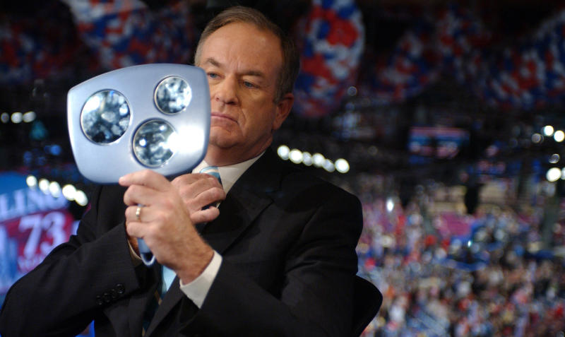 Fox News host Bill O'Reilly faced multiple allegations of harassment.