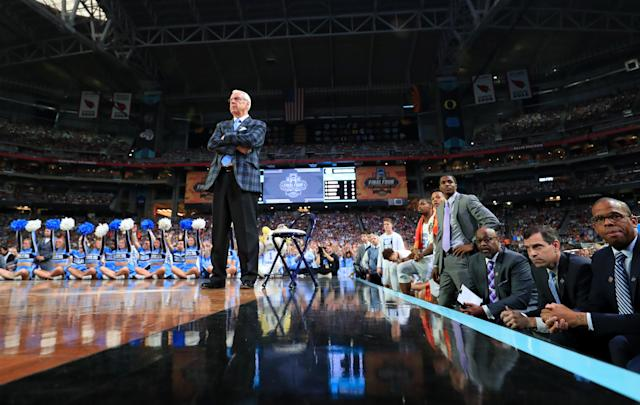 The NCAA rejected a proposed charity scrimmage between North Carolina and South Carolina that would have raised money to help victims of Hurricane Florence. (Getty Images)