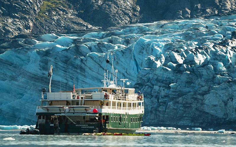A case of Covid-19 has been detected on one of the only lines left sailing to Alaska this season