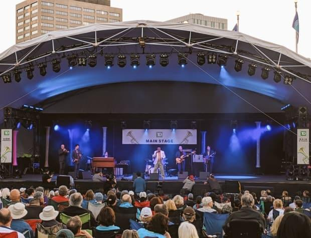 Lee Fields & The Expressions perform at the 2019 Ottawa Jazz Festival. The federal budget unveiled Monday contains relief to help arts and cultural events recover from the COVID-19 pandemic. (@OttawaJazz/Twitter - image credit)