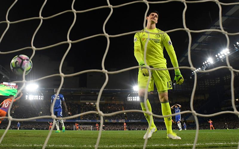 Thibaut Courtois - Credit: Reuters